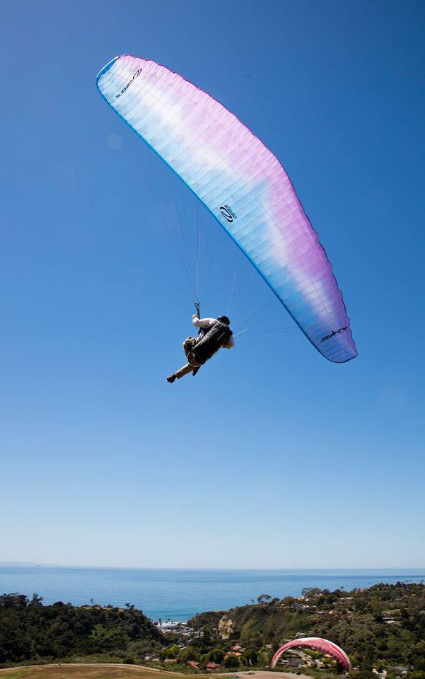 Paragliding in Santa Barbara