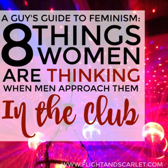 This is a hilarious read about what it's like to be a woman in clubs! A great guide to feminism for men too! I've definitely thought at least half of these things when I went dancing. This is a fun series, check it out!