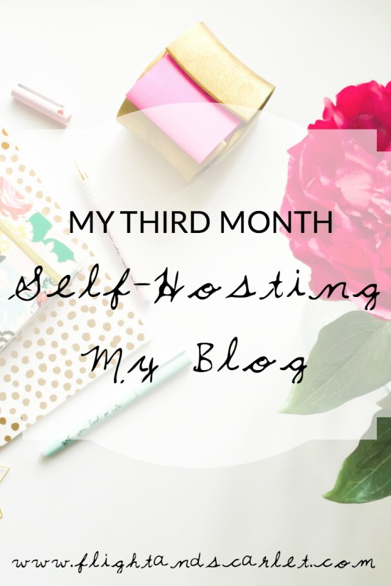 Well, looks like March has come and gone, and there goes my third month self-hosting my blog! Here's how it went.