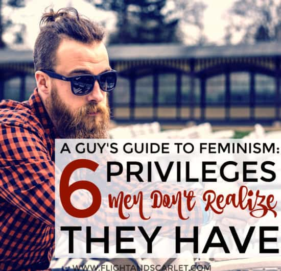 This is a really good feminist overview of male privilege! My husband really liked it - it doesn't pander and isn't patronizing! Perfect.