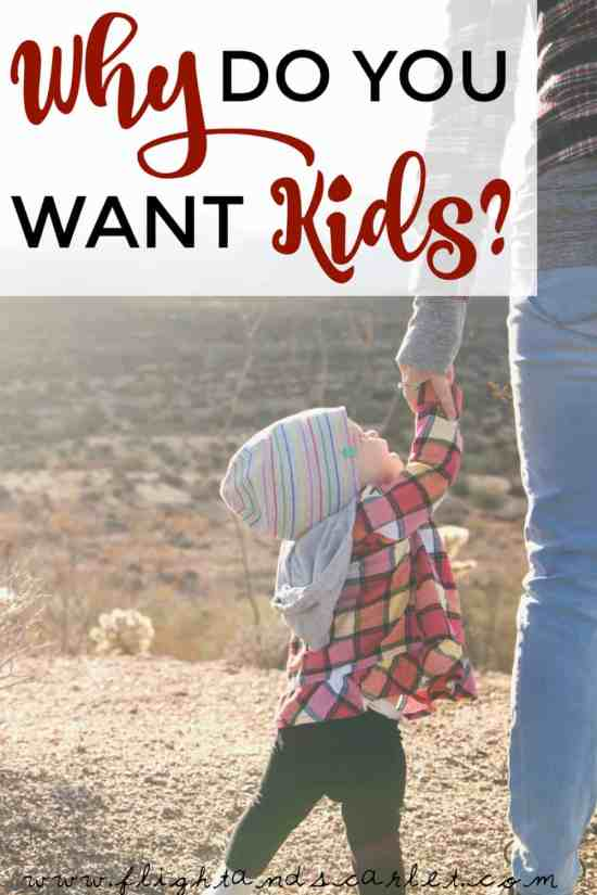 """Many people grow up assuming they will one day have kids, because that's just what you do in life. But have you ever asked yourself, """"Why do you want kids?"""""""