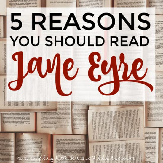 Not sure whether you should read Jane Eyre? I wasn't, either, but I'm so glad I did. Here's why!