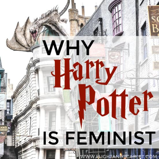Loved this feminist review of the Harry Potter series, I'm definitely going to read it all over again! I never even thought about the series that way... I guess Harry Potter is feminist after all!