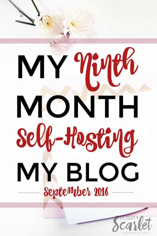 Interested in self-hosting your blog? This is a great overview of one blogger's ninth month blogging, including how Elite Blog Academy helped her! Really cool to see how it's done!