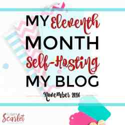 Interested in self-hosting your blog? This is a great overview of one blogger's eleventh month blogging, including how Elite Blog Academy helped her! Really cool to see how it's done!