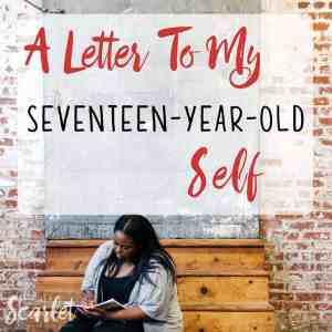 This is such a beautiful post. I thought it might be kind of cheesy, but it was full of love (like the title suggests). This is a really nice reminder to love yourself. I might write a love letter to my younger self too!