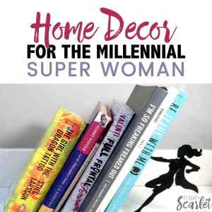 Looking for some affordable home decor for the millennial super woman in your life? Or maybe that's you? Check out these awesome pieces from Artori Design! DIY | apartments | budget | small houses | bedrooms | millennial generation | millennial lifestyle