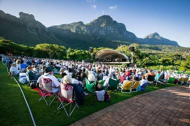 Kirstenbosch Summer Sunset Concerts Flights