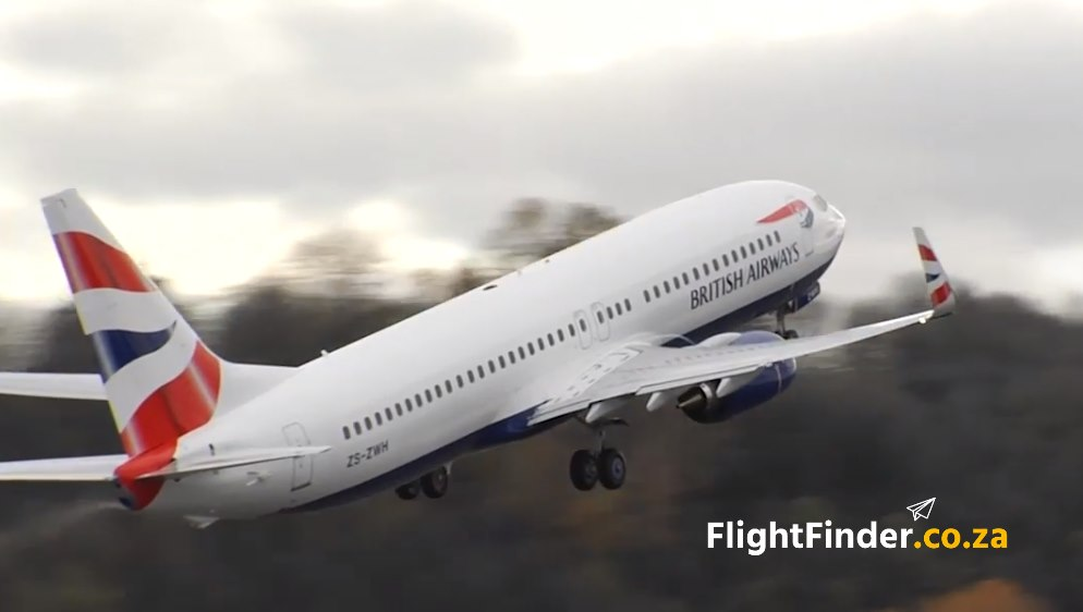 British Airways Flights South Africa
