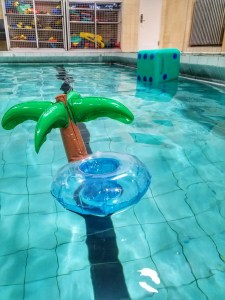 Floating Palm Tree Drink holder inflatable