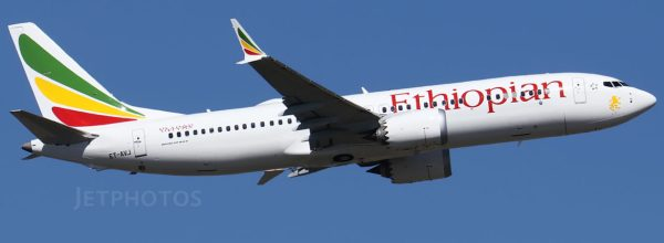 Flightradar24 data regarding the crash of Ethiopian