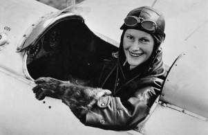 1935 Nancy Bird—organises the first Ladies' Flying Tour in Australia (National Pioneer Women's Hall of Fame, 2001) Photo: State Library of New South Wales, PXE 787 / 19