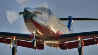 PC-12 RFDS on takeoff | Pilatus Aircraft Ltd