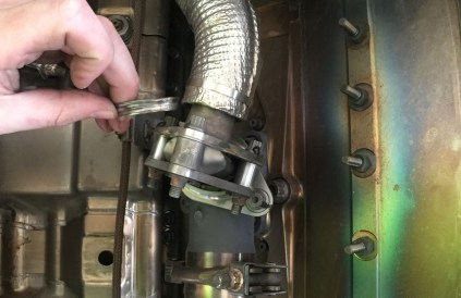 BOEING 787 8–ATA 3020 AIR INTAKE ANTI-ICE/DE-ICE SYSTEM–CLAMP–DETERIORATED.