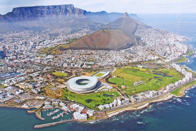 Flights from Lagos to Cape Town