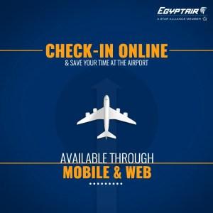Egyptair Online Checkin