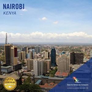 South African Airways Nairobi
