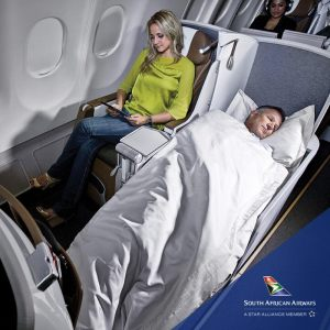 South African Airways Nigeria Business Class Booking