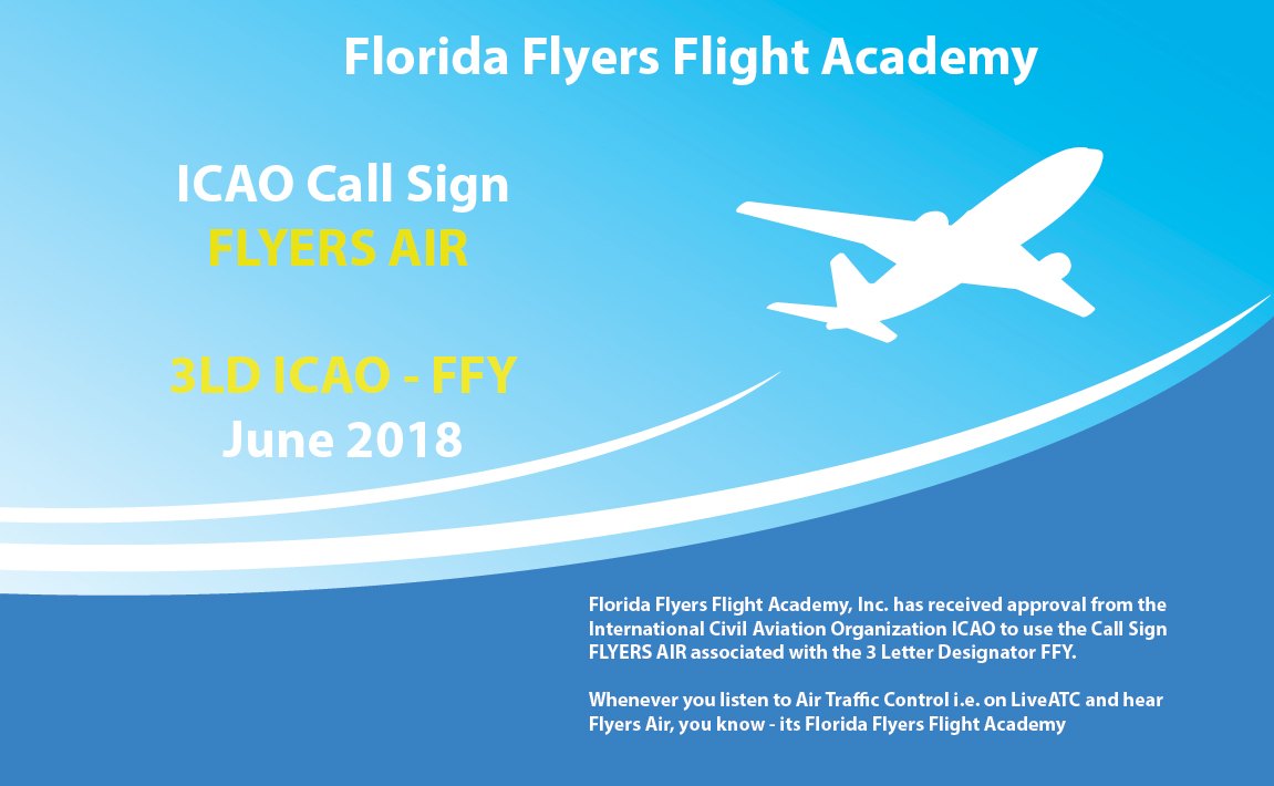 ICAO approval for Call sign Flyers Air • Florida Flyers