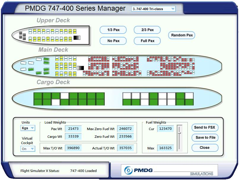 B744 Load Manager