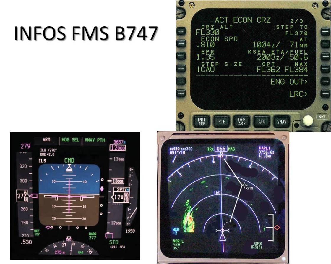 Infos FMS B744