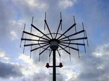 Antenne doppler d'un VHF Direction Finder