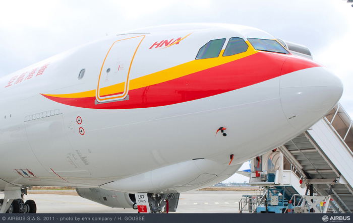 800th Airbus A330 - Will be operated by Hainan Airlines
