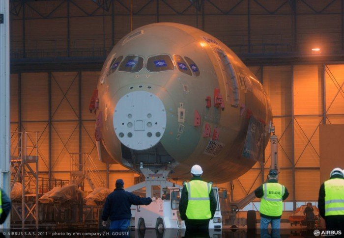 Airbus A350 XWB Static Test Frame Toulouse France