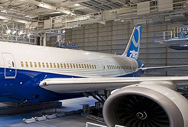 Boeing 787-9 Tail Improved Livery