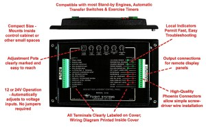 NFPA110 Compliant Genset Replacement Control Panel