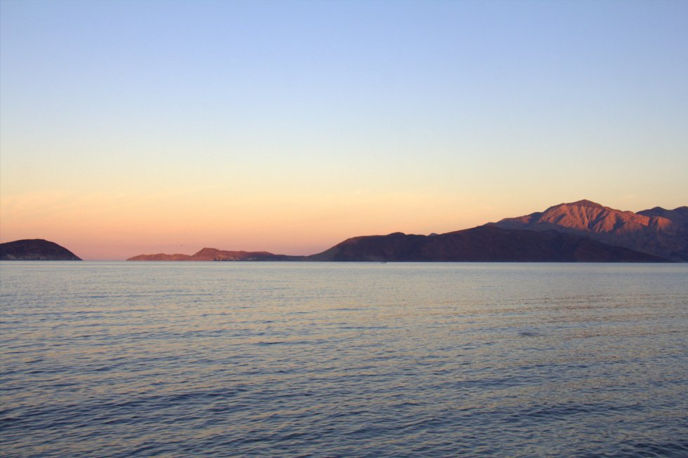 Sunset at Bahia de Los Angles