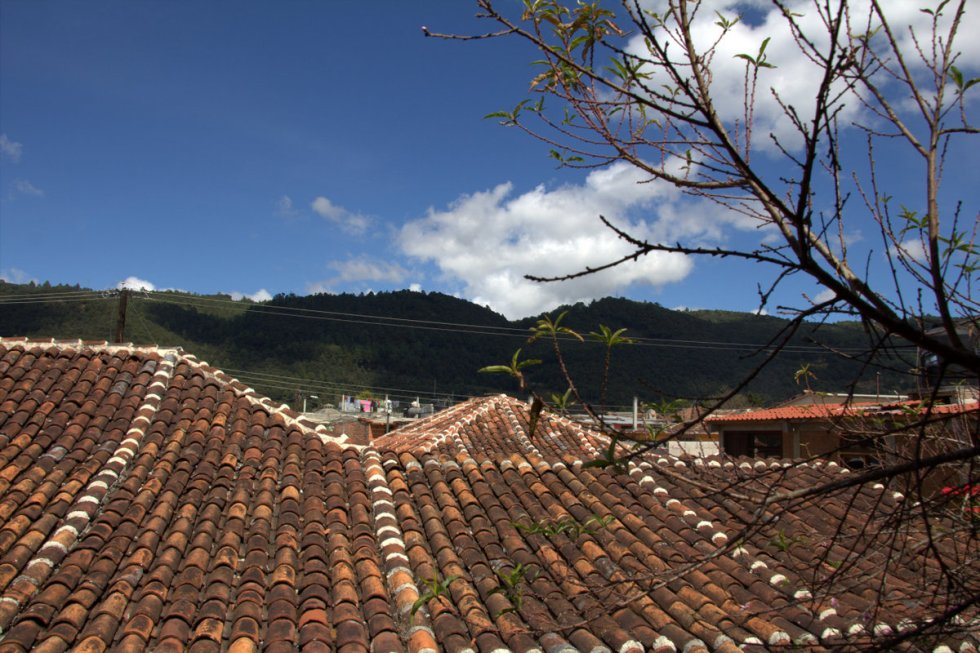 San Cristobal roofs