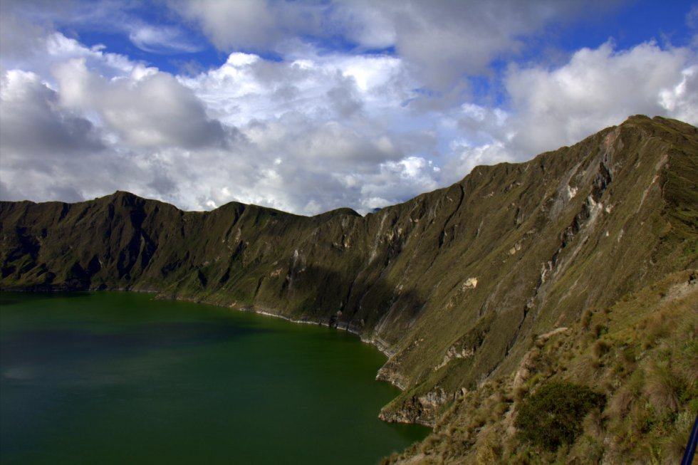 Hiking Around A Crater Lake And Up The Devil's Nose