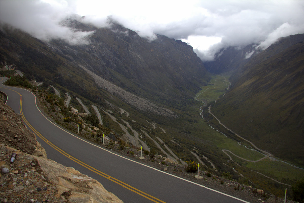 Hairpin Frenzy At The Highest Tunnel In The World