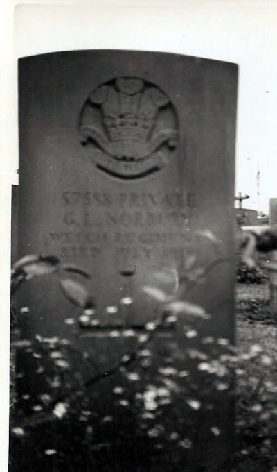 His Military Grave in France