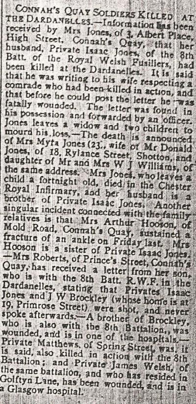 Private R.J. JONES & Pte. Isaac JONES