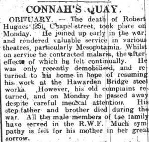 Flintshire Observer 30th October 1919 3
