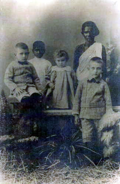 Robert, Sidney, Agnes - cJOLLEY children born in India - 2