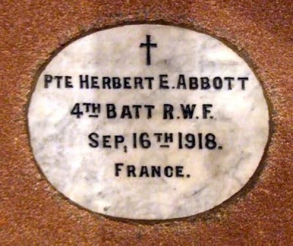 Holywell Abbott Herbert E 001