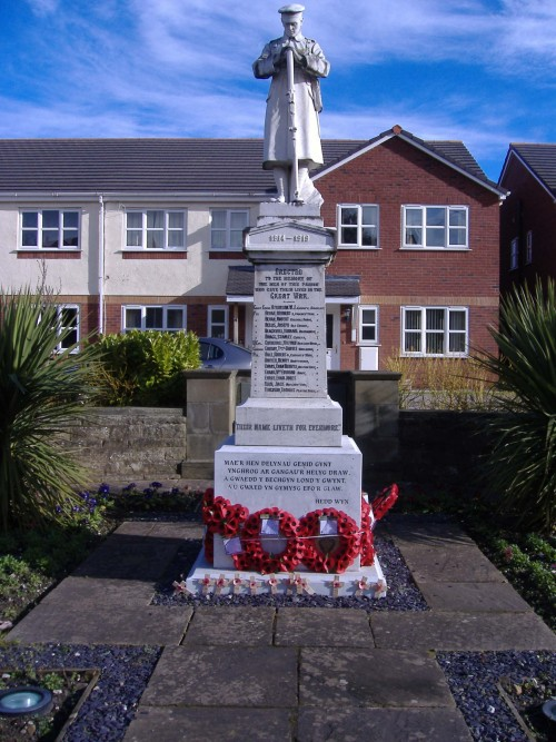 Bagillt War Memorial 001
