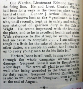 Hawarden Parish Magazine - PAGE, Edmund - Whitley, Charles