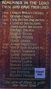 Saltney War Memorial C - M