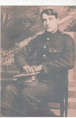 ET Roberts in Uniform
