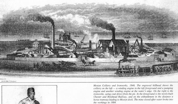 Mostyn Colliery and Ironworks 1846