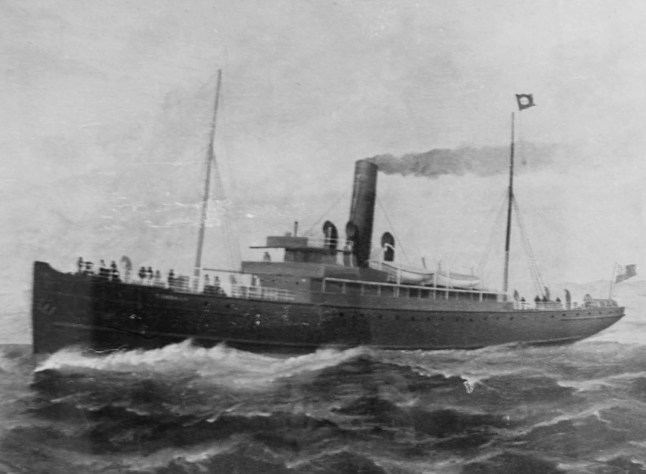 The SS Dundalk was torpedoed and sunk on the evening of Monday, 14th October, 1918, off Anglesey, by UB123 and UB90