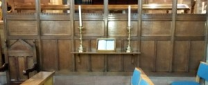 St. Ethelwold's Church Memorial Screen 2
