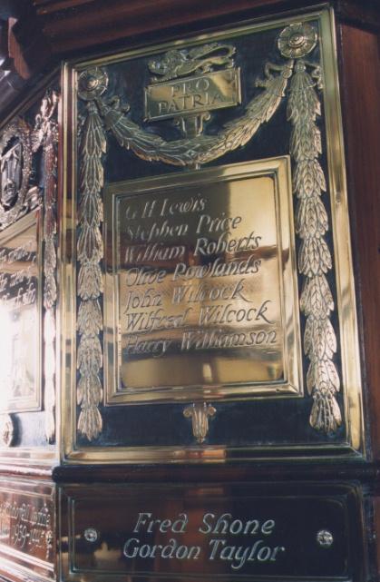 St John's Memorial plaque 2