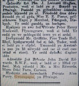 Yr Herald Cymraeg Awst 1916 reduced