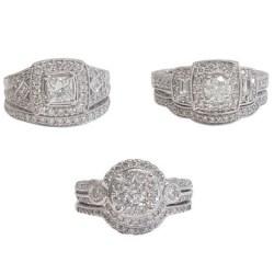 Diamond Wedding Sets