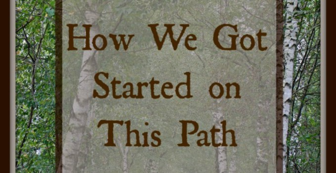 How we got started on this path